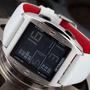 Relógio Detomaso Marco Silver White Leather