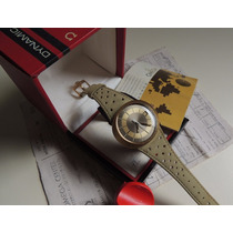 Relógio Omega Dynamic Ouro Maciço Imaculado No Estojo Origin