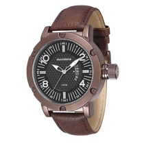 Relógio Mondaine Masculino Grande Pul. Couro 76479gpmvmh2