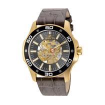 Lindo Relógio Invicta Specialty 17261 Banhado À Ouro 18k