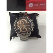 Exclusivo Relógio Technos Sports Js15ab/1m Marron Raridade