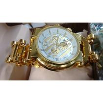 Relógios Oakley Dourado Frete Grátis