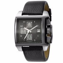 Relógio Diesel Idz4156n Quadrado Pulseira Couro Promoção