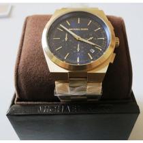 Michael Kors Channing Mk 8338 Blue Chronograph Bracelet
