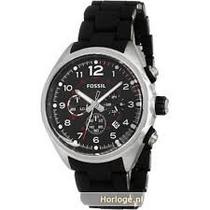 Relogio Fossil Fch2697 Cronografo Quartz Zero S/uso Na Caixa