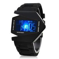 Relógio Masculino Led Digital Pulseira De Borracha *