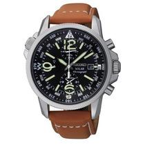 Relógio Seiko Solar Adventure Ssc081 Classic Cronografo