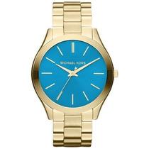 Relógio Michael Kors Mk3265 Dourado Lançamento 2014 Original