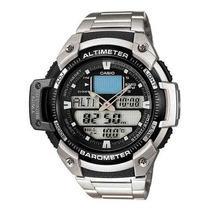 Relógio Outgear Sgw-400-hd-1bv Altimetro Barometro Aço