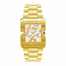 Relógio Lince Feminino Dourado Lqgb050l S2kx Frete Gratis