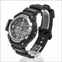 Relogio Casio Sgw 400h1b Serie Prata Barômetro Altimetro