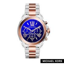Relógio Michael Kors Mk5950 Chron Anal Acrylic & Oro Rosé