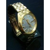 Relogio Automatico Orient Dourado Original Com Garantia.
