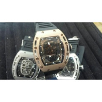 Relógio Richard Miller Rm052 Skull Caveira Automático