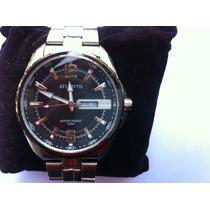 Relógio Atlantis G3221 Fundo Preto