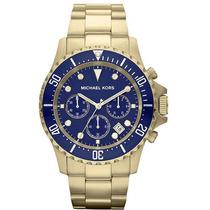 Relógio Michael Kors Mk8267 Dourado, Original, Garantia