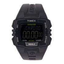 Relogio Timex T49900wkl/tn Crono Timer 3alarm Calendário Luz