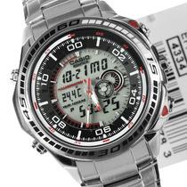Relógio Casio Edifice Efa-121d Branco Novo Efa-121 Efa121