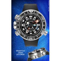 Relógio Citizen Aqualand Eco-drive Bn2029-01e Lançamento
