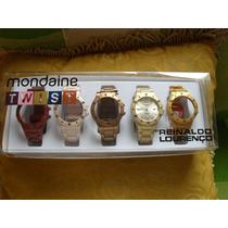 Relógio Mondaine Twist Troca Tudo Metalizado 94401l0mcnp1