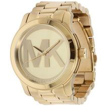 Relógio Michael Kors Mk5473 Dourado 12 X Sem Juros