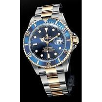 Relógio Prova D Água Submariner Automático/safira/com Caixa