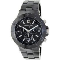 Relógio Luxo Michael Kors Mk8225 Orig Chron Anal Cerâmico!!!