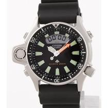 Citizen Aqualand Jp2000-08e Série Prata 12 X Sem Juros