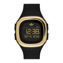 Relógio Adidas Originals Denver Adh3031/8dn - Preto/ Dourado