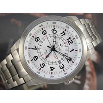 B U L O V A Relógio Bulova Marine Star Gmt Titanio 96b125