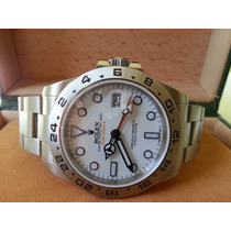 Relógio Eta Explorer Ii Dial Branco 42mm - Máquina Eta A2836
