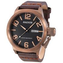 Relógio Magnum Masculino Ma33399r - Garantia E Nf