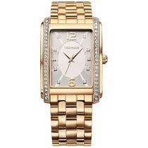 Relógio Technos Feminino Elegance Swarovski 2035ffm/4k