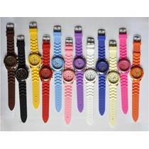 Relógio Feminino Gevena Importado Várias Cores - No Brasil