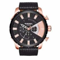Relógio Masculino Diesel Dz4347 Rose/preto - Promoção