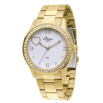 Relógio Condor Kw86638/4b - Dourado - Feminino 12x Sem Juros
