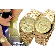 Relógio De Luxo Michael Kors Mk5055 Chronograph Analógico
