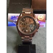 Relógio Michael Kors Mk5628 Brown 100% Original 12x S/ Juros