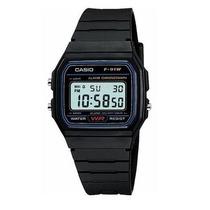 Relógio Masculino Digital Casio F-91 Alarme Cronômetro Preto