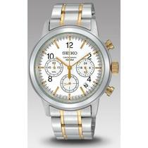 Relógio Seiko Quartzo 100m Masculino Ssb009p1 Original