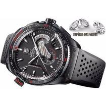 Relógio Tag Hauer Calibre 36 Preto Automatico Carrera 12x