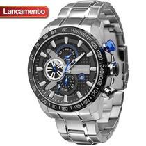 Relógio Technos Cronógrafo - Os1aaj/1p - Garantia E Nf