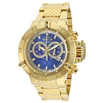 Relógio Invicta Subaqua Noma 3 Iii 14501 Gold 18k Sdx Gratis