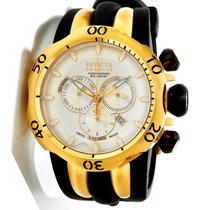 Relógio Invicta Reserve Venom 10834 Branco/gold 18k Original