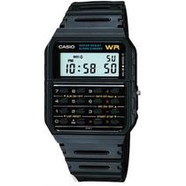 Relógio Casio Calculadora Cronógrafo Alarme Bip Ca-53w-1z