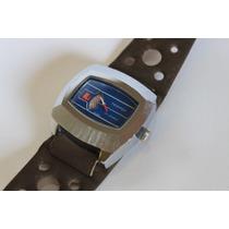 Relógio Mecânico Digital -antigo Tegrov Swiss Made Coleção