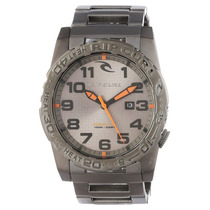 Relógio Rip Curl Cortez 2 Xl Sss Gun Metal A2505. Analógic