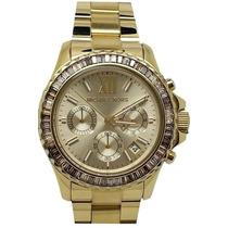 Relógio Michael Kors Mk5849 Dourado Garantia, Original,