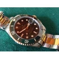 Relógio Rolex Submariner Verde Bezel Em Cerâmica