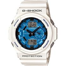 Relógio Casio G-shock Ga-150 Mf-7 W200 5 Alarmes H.mundial B